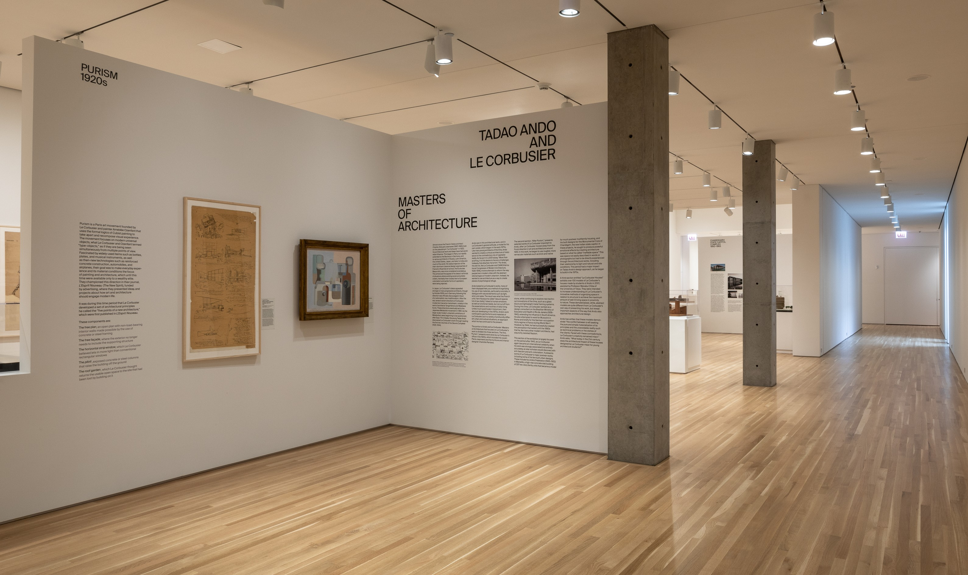 Le Corbusier Les 5 Points ando and le corbusier: masters of architecture – wrightwood 659