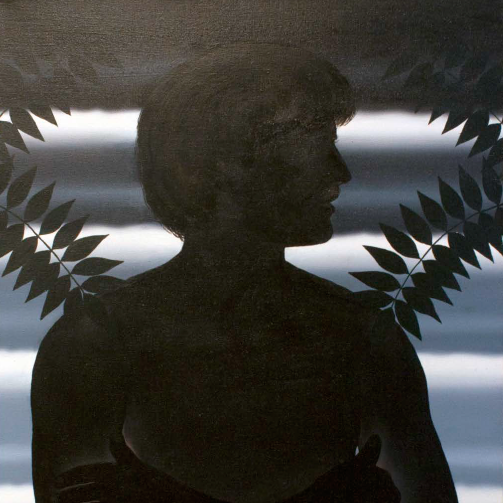 Roger Brown, Boy with Trees of Heaven