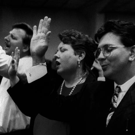 Still from The Transformation, 1995, 58 minutes.